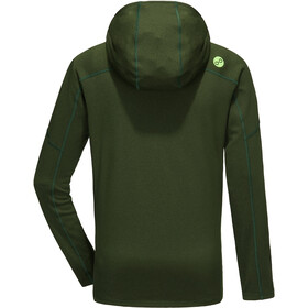 PYUA Crest-Y Hooded Zipper Men rifle green